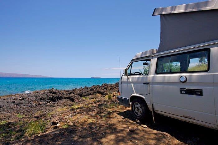 Camping On Maui In A Rental Van