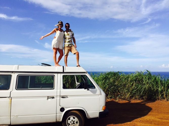 Maui Camper And Van Rentals Westy Amp Modern Camper Vans