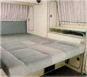 MCVR Camper Van Bed