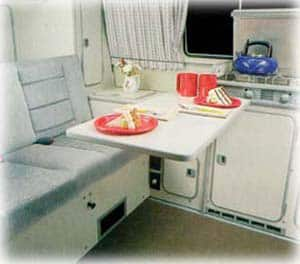 MCVR Camper Van Kitchen
