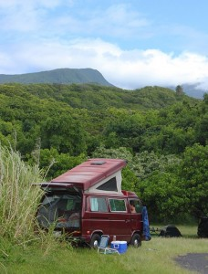 Maui Camp and Van Rentals Campground info